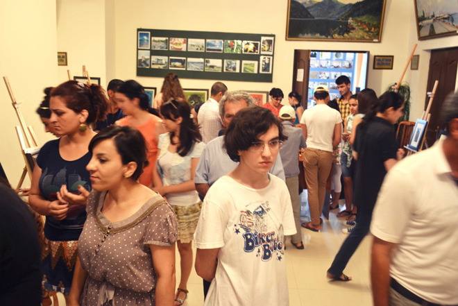 """В Астаре стартовал республиканский фестиваль """"Azerbaijan Art Festival - 2014"""" (ФОТО)"""
