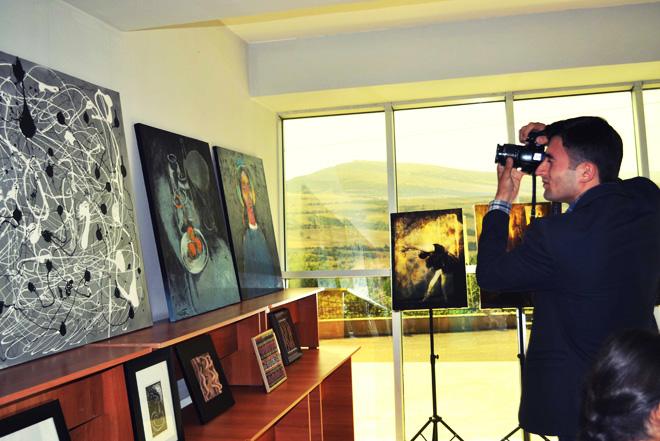 """В Лерике состоялось открытие выставки в рамках """"Azerbaijan Art Festival - 2014"""" (ФОТО)"""