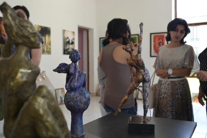 """В Барде состоялось открытие выставки в рамках """"Azerbaijan Art Festival - 2014"""" (ФОТО)"""
