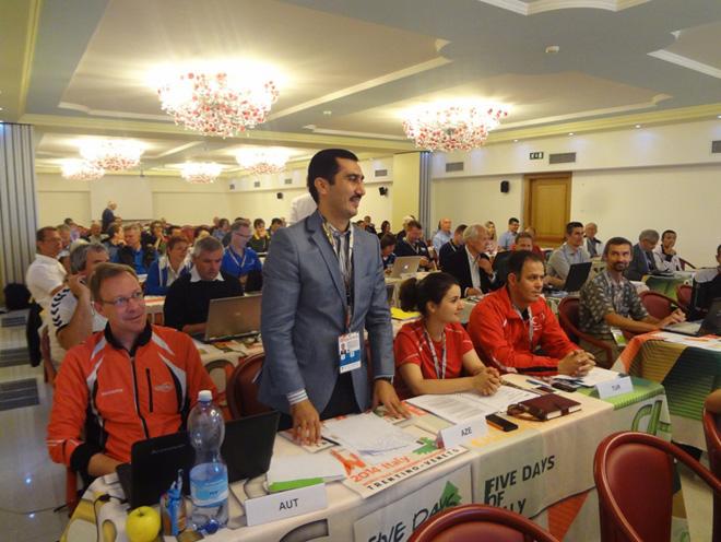 Президент ФСОА выступил на Генеральной Ассамблее İOF (ФОТО)