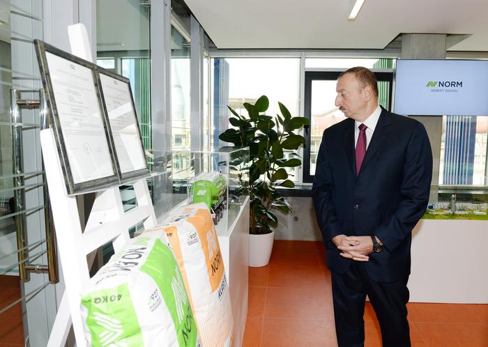 Президент Ильхам Алиев: В Азербайджане на самом высоком уровне обеспечивается партнерство государственного и частного секторов (ФОТО)