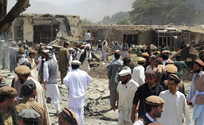 More than 10000 civilian casualties in Afghan war in 2017