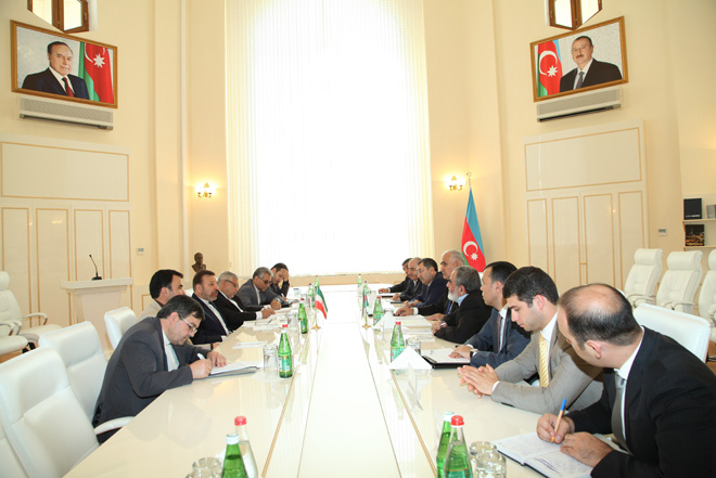 Iran may organize joint production in Azerbaijan`s industrial parks (PHOTP)