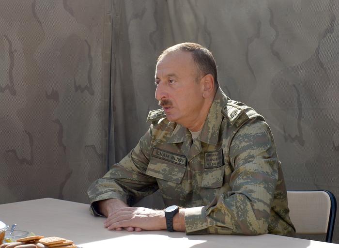 Azerbaijani army able to destroy any facility in Nagorno-Karabakh, president says (PHOTO)