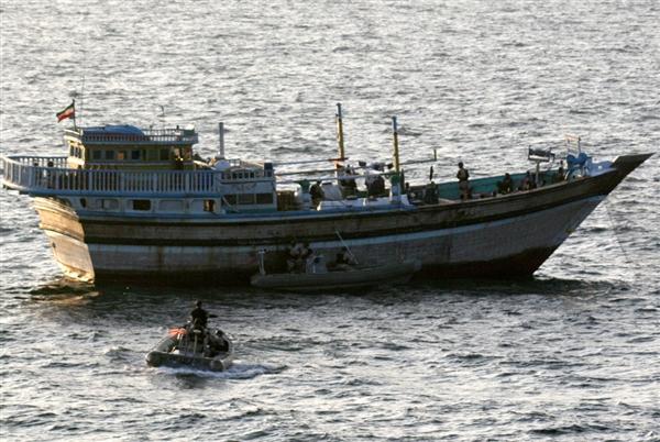 İranda 7 gəmi saxlanıldı