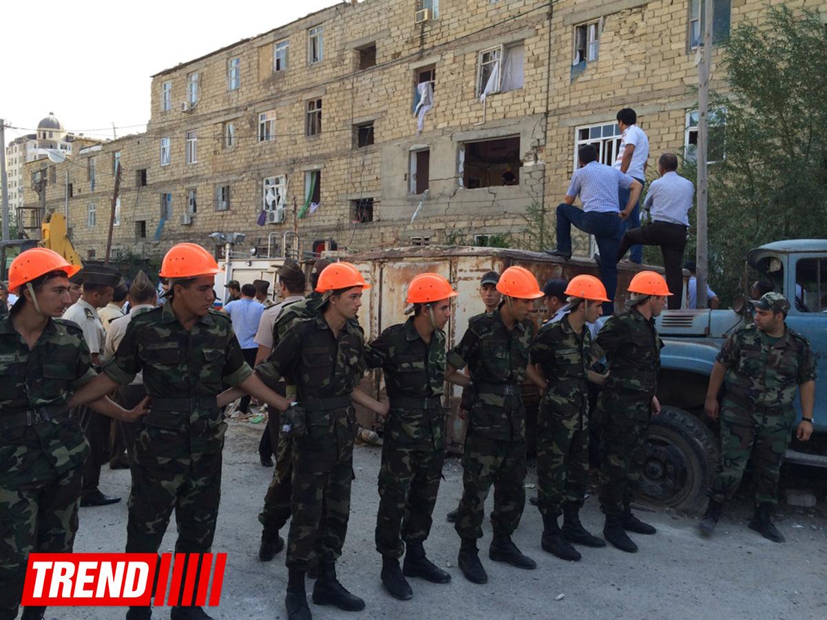 Explosion occurs in Azerbaijan's Khirdalan, 4 people still missing (UPDATE 5)