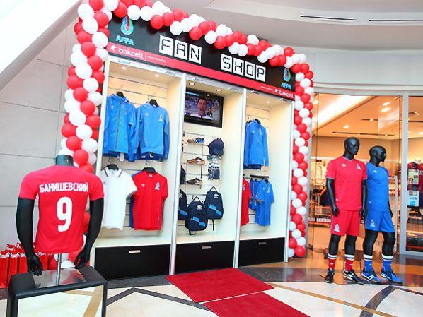 Fan Shop Of Azerbaijan S National Football Team Opened