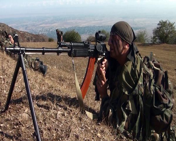 Azerbaycan Özel Birlikleri Türkiye'de tatbikata katıldı