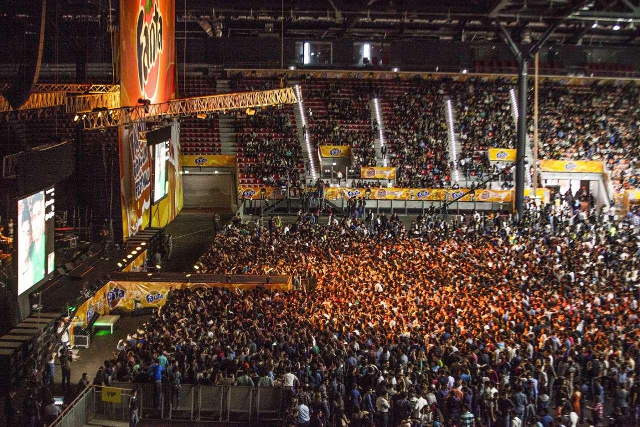 В Баку состоялся грандиозный молодежный фестиваль Fanta (ФОТО)