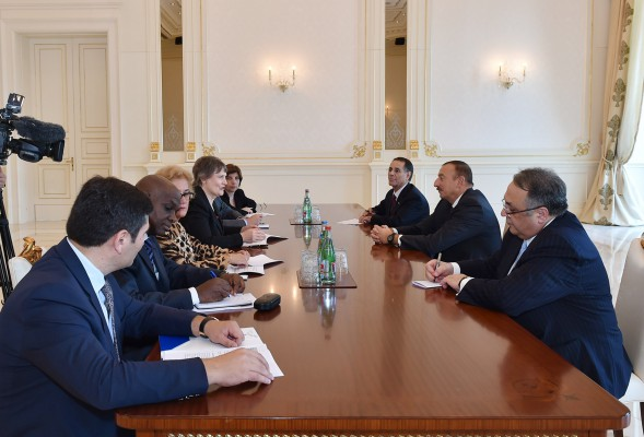 Президент Азербайджана принял делегацию во главе с руководителем Программы развития ООН