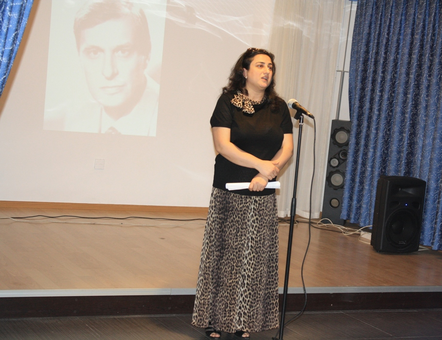 В Баку отметили юбилей Олега Басилашвили (ФОТО)
