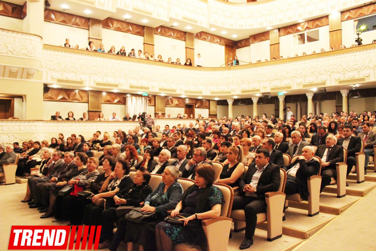 В Баку прошел вечер, посвященный 100-летию народного писателя Гылмана Илькина (ФОТО)