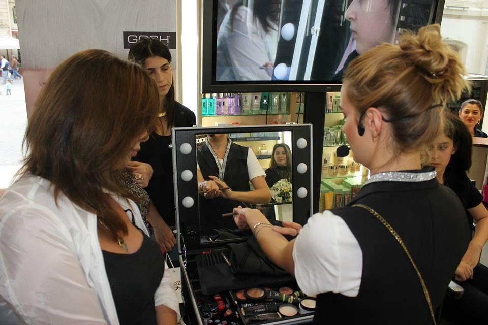 В Баку состоялась презентация нового датского бренда GOSH Cosmetics (ФОТО)