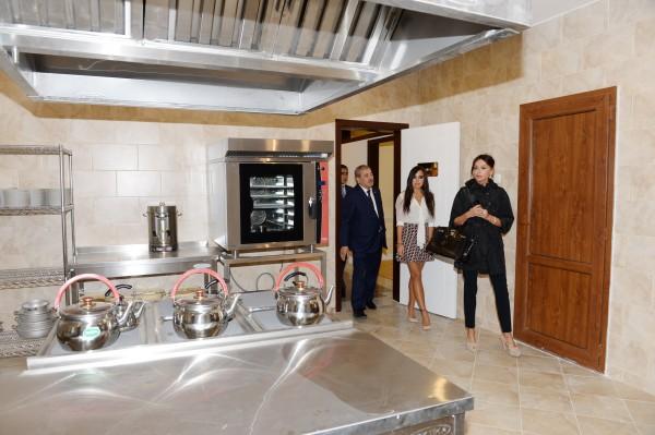 Первая леди Азербайджана Мехрибан Алиева приняла участие в открытии нового детского сада-яслей в Ясамальском районе (ФОТО)