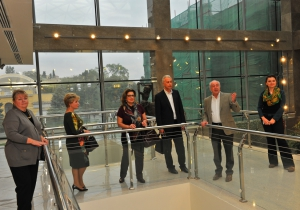 Дочь Юрия Гагарина посетила Национальный музей искусств Азербайджана (ФОТО)