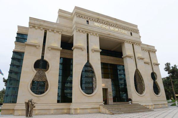 Президент Азербайджана принял участие в открытии музыкальной школы в Хырдалане (ФОТО)