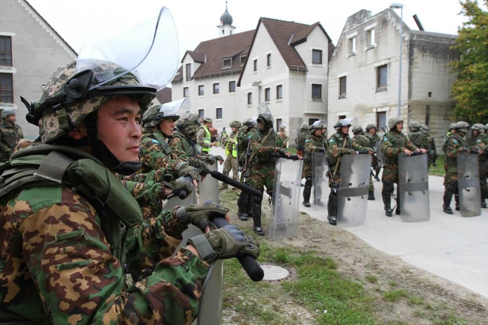 Казахстанский миротворческий батальон отрабатывает задачи по улучшению совместимости в многонациональной среде (ФОТО)