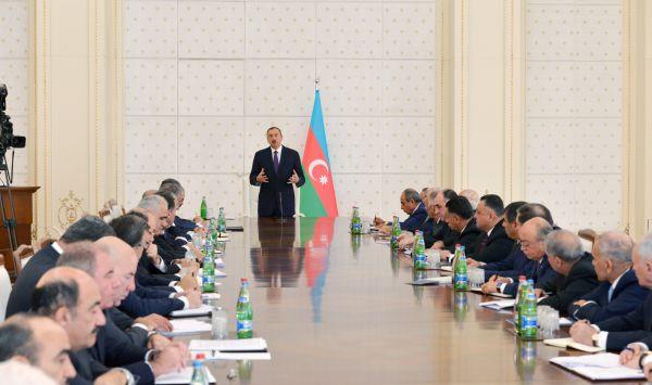 Президент Ильхам Алиев: Валютные резервы Азербайджана находятся на самом высоком уровне в мировом масштабе (ФОТО)