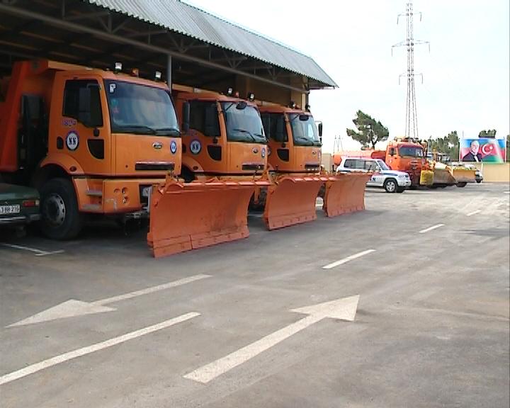 В Азербайджане создан штаб по обеспечению безопасности дорожного движения в осенне-зимний период (ФОТО)