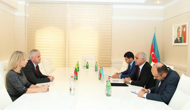Азербайджан и Литва обсудили перспективы сотрудничества в сфере ИКТ, фармацевтики и сельского хозяйства
