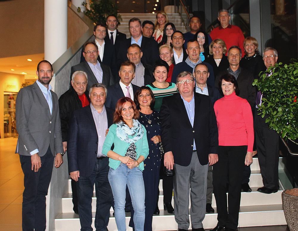 Представители Европейских Игр Баку 2015 приняли участие в праздновании 25 -летнего юбилея Национального Олимпийского Комитета Грузии
