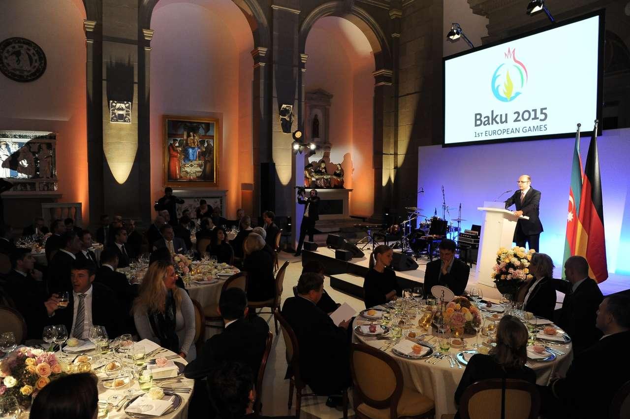 В Берлине состоялась презентация первых Европейских игр в Баку (ФОТО)