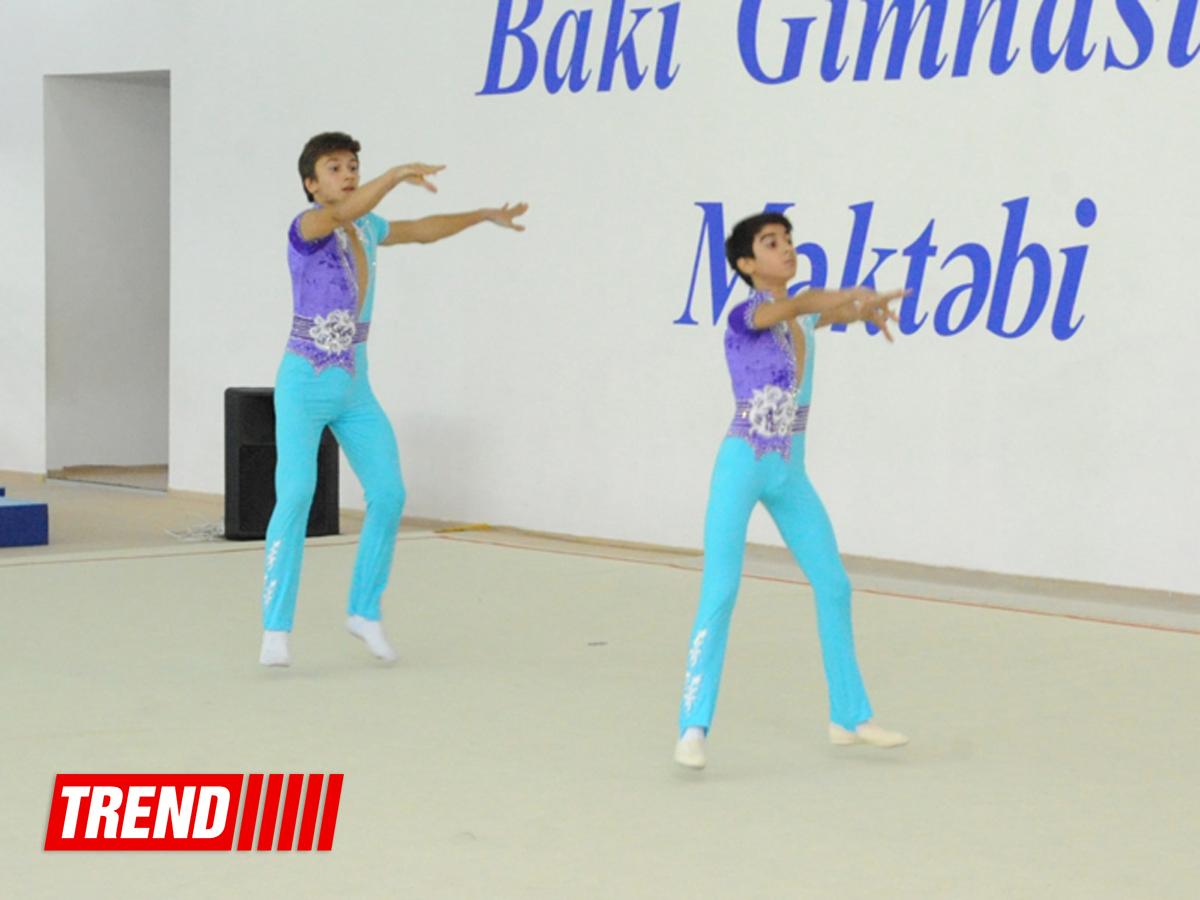 В Бакинской школе гимнастики состоялись гала-выступления (ФОТО)