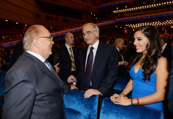 Вице-президент Фонда Гейдара Алиева Лейла Алиева приняла участие в  торжественном вечере, посвященном юбилею МГИМО (ФОТО)