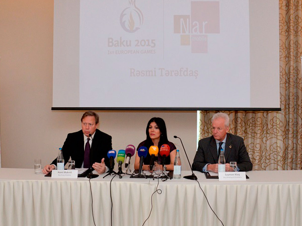 Nar Mobile поддерживает Волонтерскую Программу Европейских Игр Баку 2015