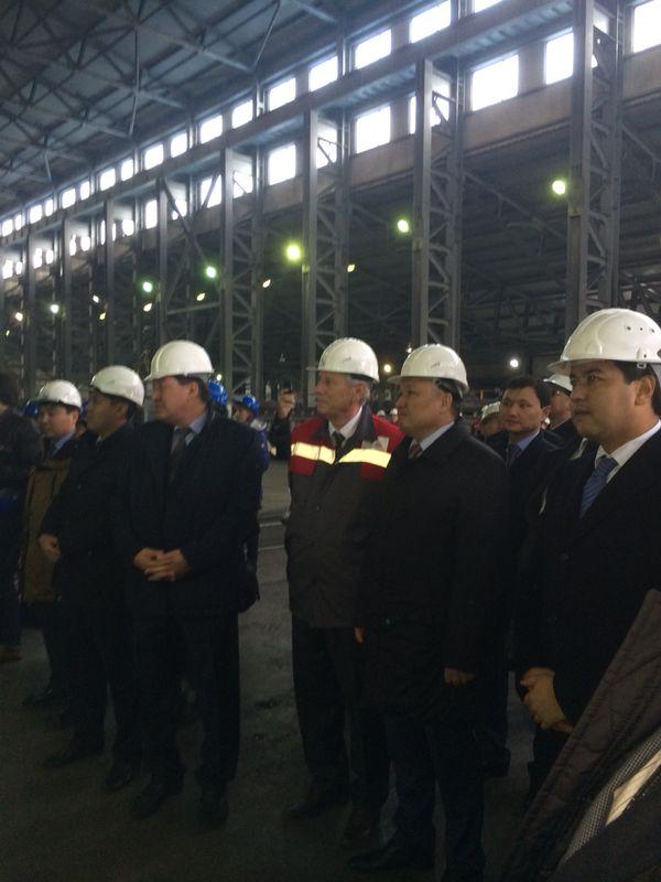 В Казахстане введен в эксплуатацию завод по производству металлургического кремния (ФОТО)