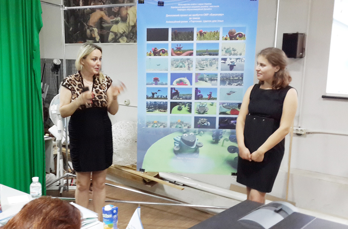 Проект художника – орнаменталиста из Нахчывана вошел в учебную программу  Харьковской  Академии (ФОТО)