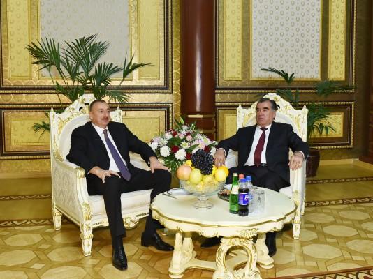 Завершился официальный визит Президента Азербайджана Ильхама Алиева в Таджикистан (ФОТО)
