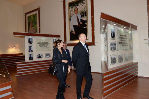 Президент Азербайджана и его супруга приняли участие в открытии Центра Гейдара Алиева в Дашкесане  (ФОТО)