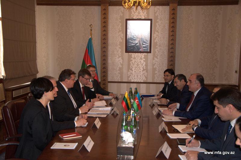 Литва готова внести вклад в развитие связей Азербайджана и ЕС (ФОТО)