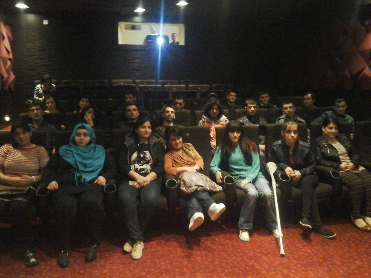 """Для  молодежи с ограниченными возможностями здоровья проведен бесплатный показ фильма """"Махмуд и Марьям"""""""