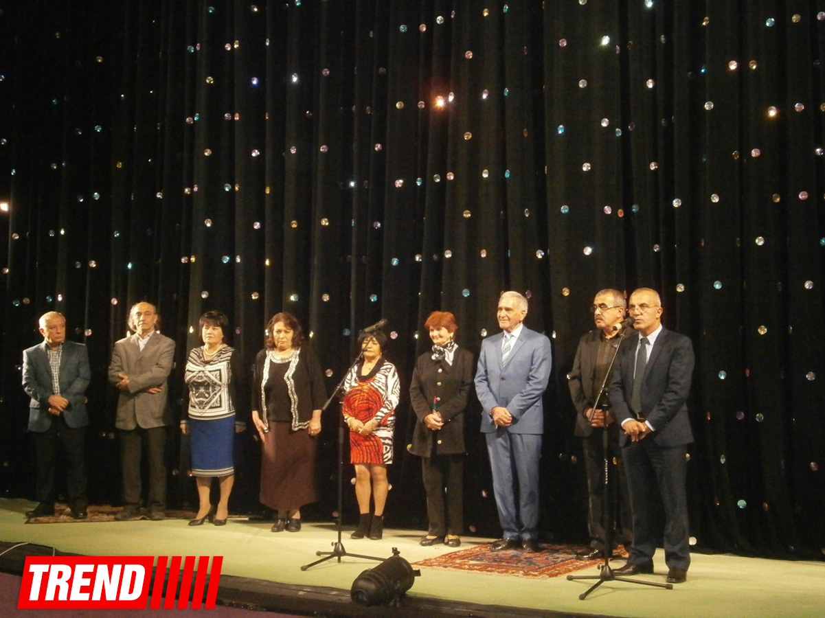 В Баку прошел вечер, посвященный артисту Осману Гаджибекову (ФОТО)