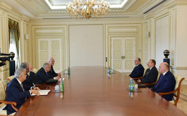 Ильхам Алиев принял главу Европейского суда по правам человека