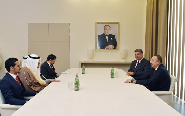 Президент Азербайджана принял госминистра Кувейта по вопросам молодежи