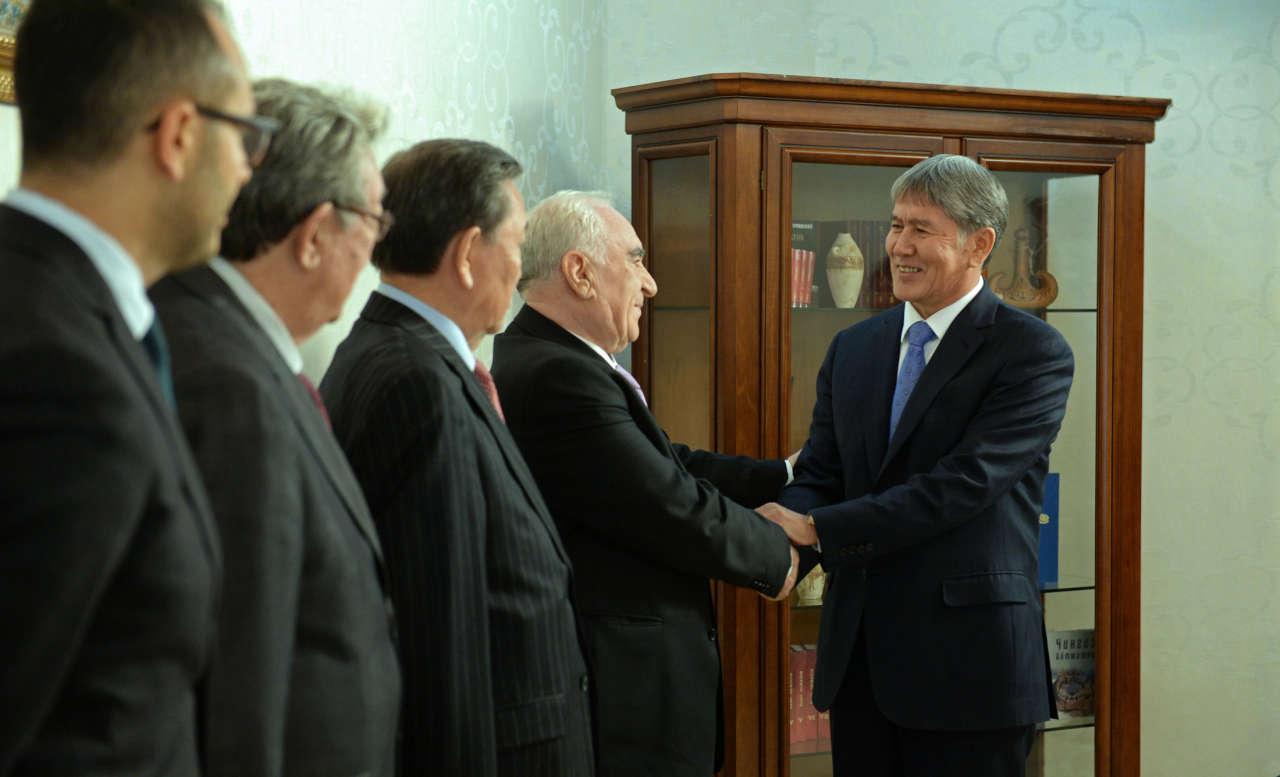 Председатели советов аксакалов тюркоязычных стран обсудили вопросы сотрудничества (ФОТО)