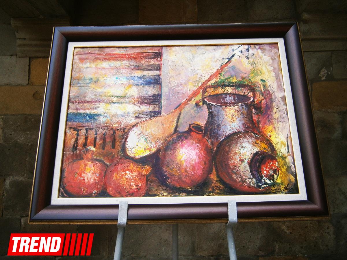 """Во Дворце Ширваншахов открылась выставка """"Гранатовое дерево"""" (ФОТО)"""