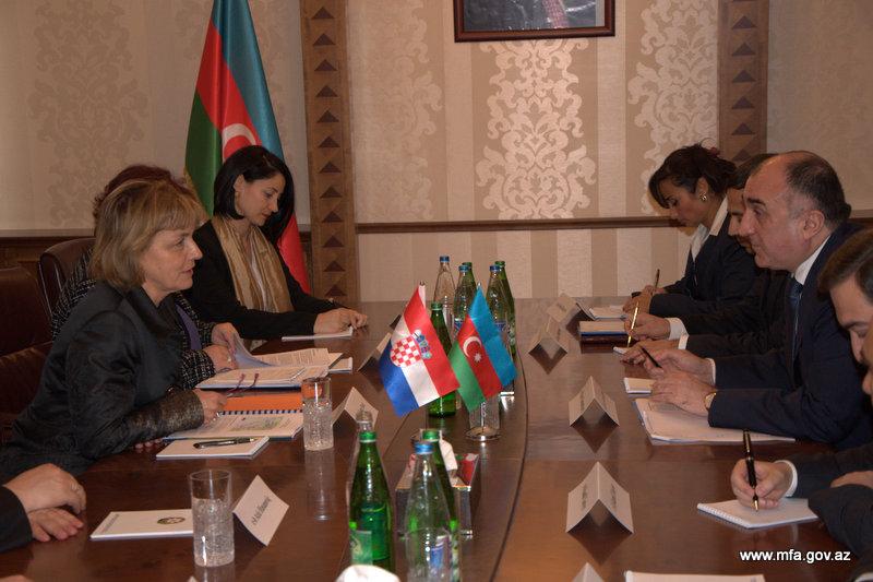 Хорватия заинтересована в сотрудничестве с Азербайджаном в энергетическом секторе