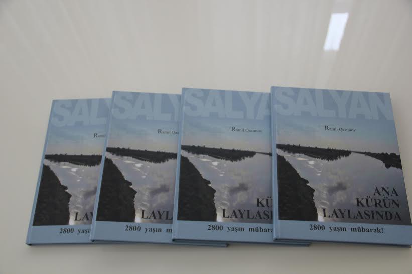 Рамиль Гасымов выпустил книгу, посвященную 2800-летию города Сальян (ФОТО)