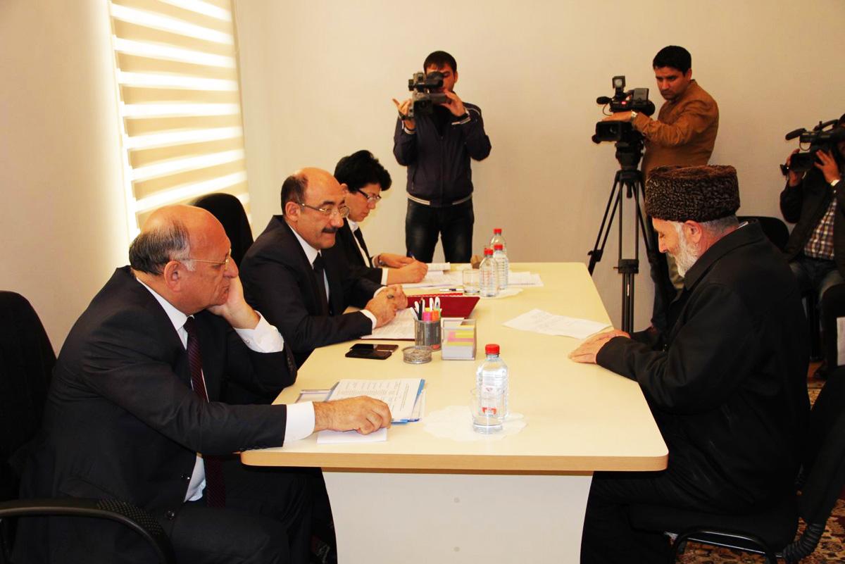Министр культуры и туризма Азербайджана провел очередной прием граждан (ФОТО)