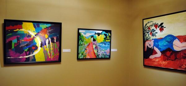 В Риге открылась выставка азербайджанской художницы Марьям Алекберли (ФОТО)