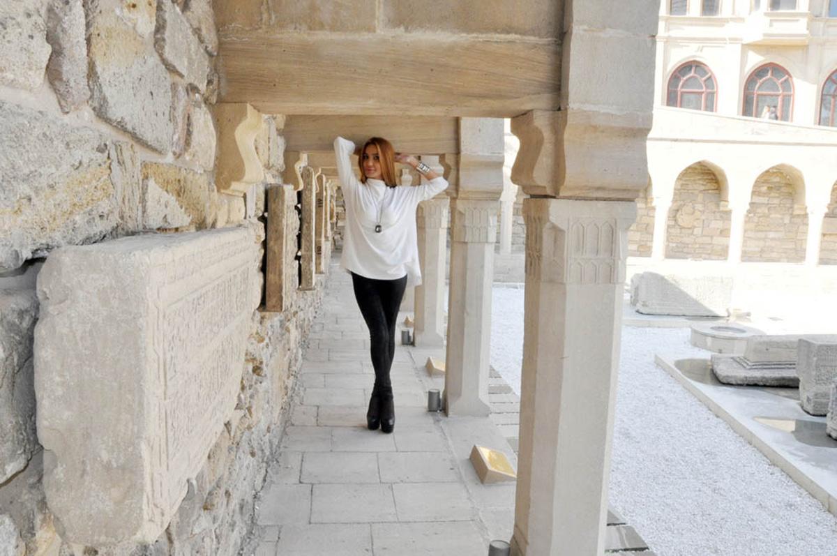 """Фотопутешествие с Кенуль Азизовой – новый проект """"Азербайджанская сказка"""" для турецкого телеканала (ФОТО)"""
