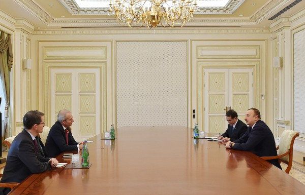 Azerbaijani president receives British Minister of State for Europe