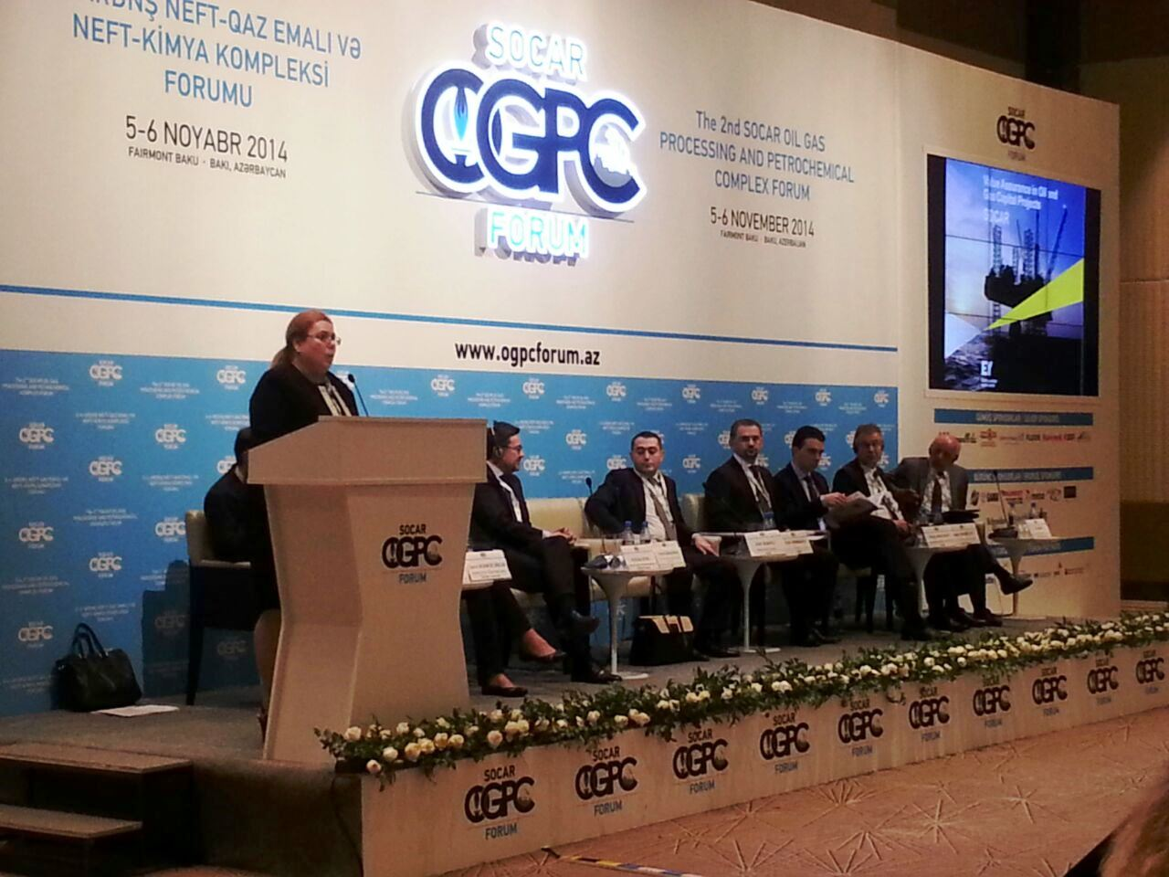 EY Azerbaijan participates as strategic partner in 2nd SOCAR OGPC Forum (PHOTO)