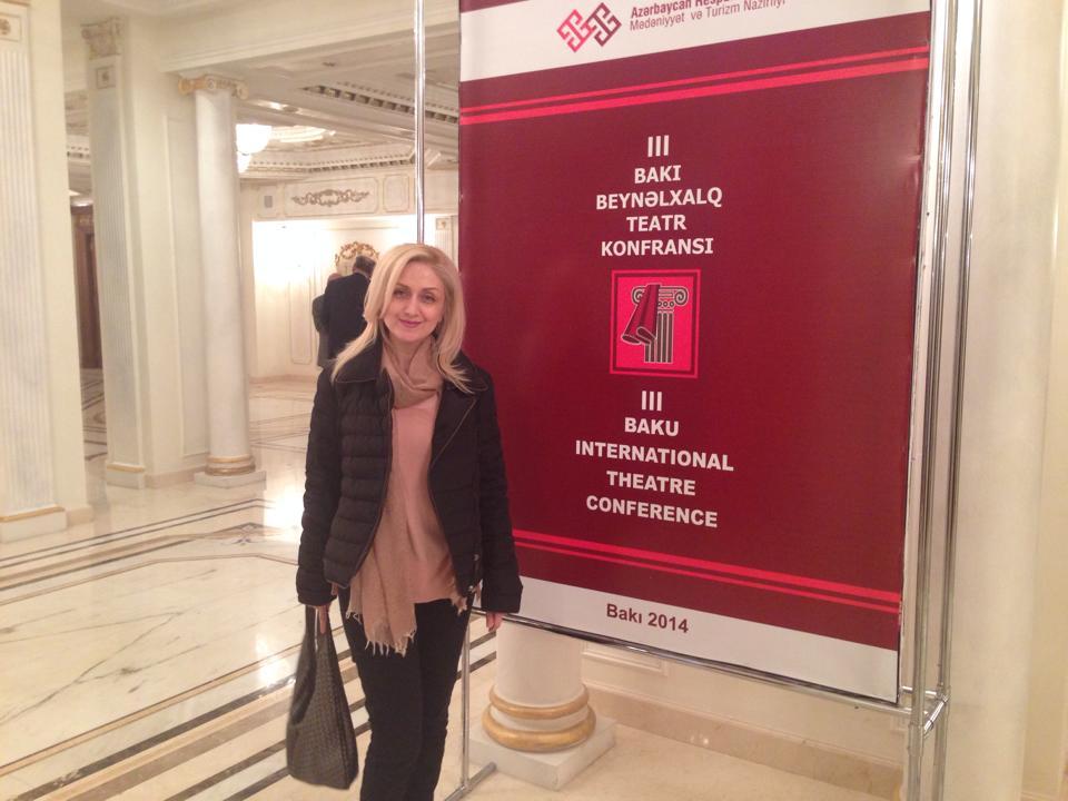 """Участники Бакинской международной театральной конференции: """"Мультикультурализм и искусство способны изменить мир"""" (ФОТО)"""