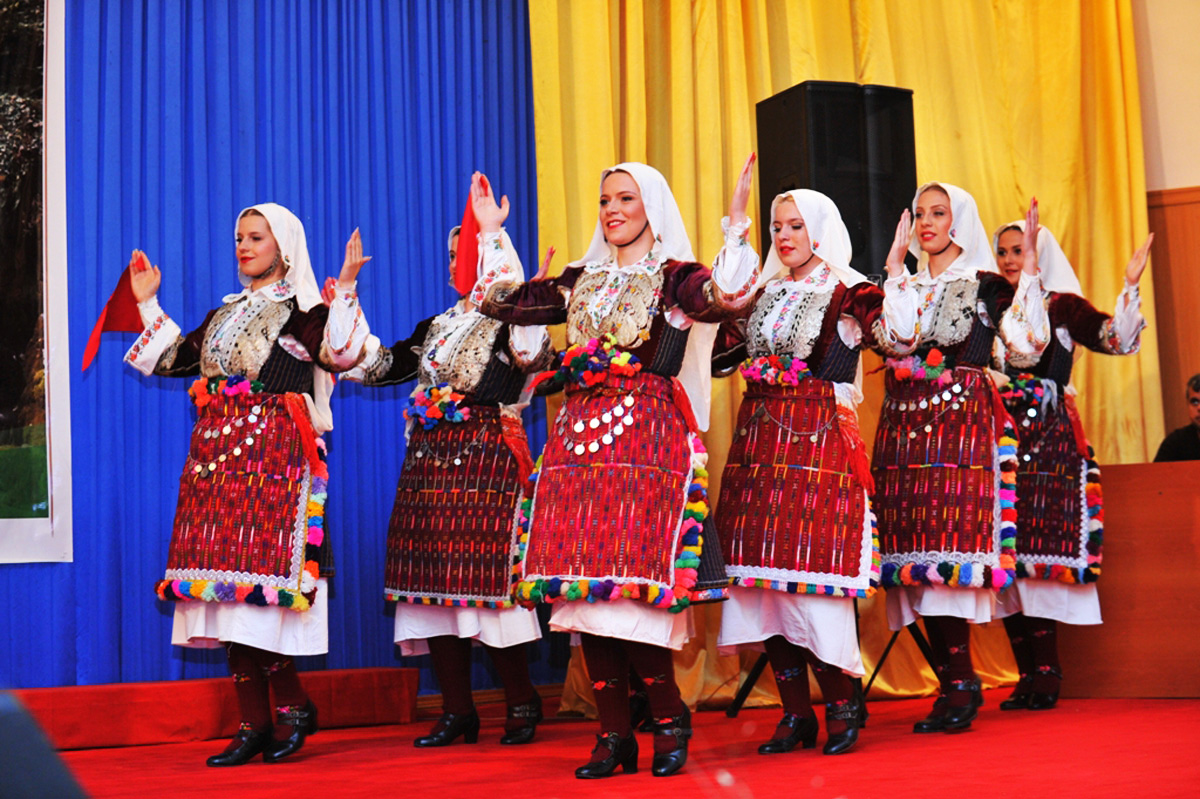 В Агсу ознакомились с культурным наследием Азербайджана и Македонии (ФОТО)