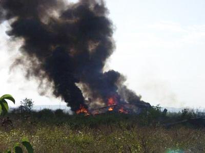 В Эквадоре три человека погибли при крушении вертолета